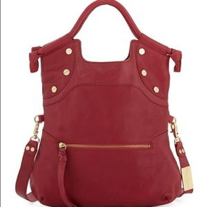 New Foley + Corinna Lady Leather Convertible Bag